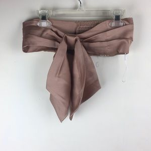 NWT NFC X Free People Rose Gold Top